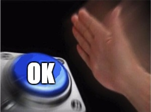 Blank Nut Button Meme | OK | image tagged in blank nut button | made w/ Imgflip meme maker