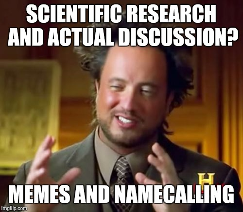 "Flat earth ""logic"" 