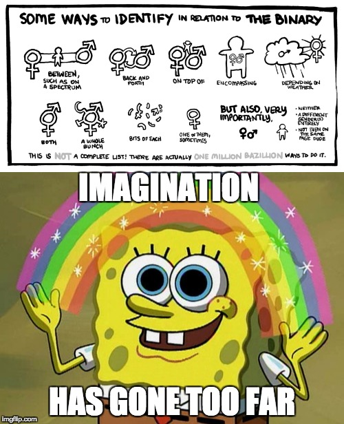 I don't have high hopes for this generation | IMAGINATION HAS GONE TOO FAR | image tagged in funny,truth | made w/ Imgflip meme maker