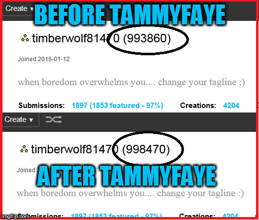 BEFORE TAMMYFAYE AFTER TAMMYFAYE | made w/ Imgflip meme maker
