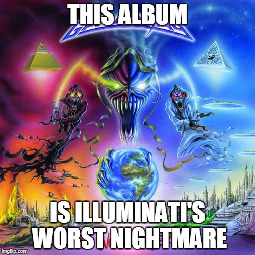 "Gamma Ray - No World Order.If only more people knew about Gamma Ray and this genius album,especially the song ""Dethrone Tyranny"" 