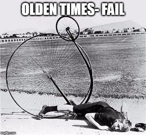 I've fallen and I can't get up | OLDEN TIMES- FAIL | image tagged in faceplant | made w/ Imgflip meme maker