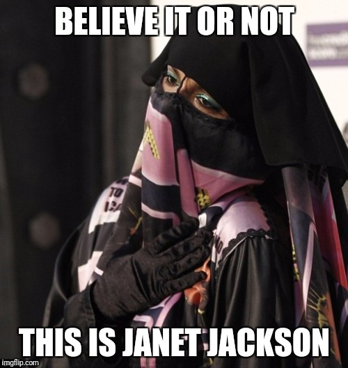 BELIEVE IT OR NOT THIS IS JANET JACKSON | made w/ Imgflip meme maker