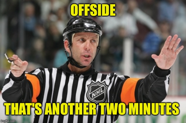 OFFSIDE THAT'S ANOTHER TWO MINUTES | made w/ Imgflip meme maker