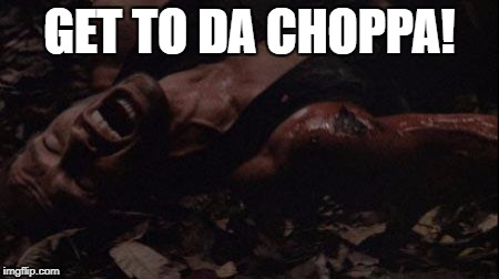 GET TO DA CHOPPA! | made w/ Imgflip meme maker