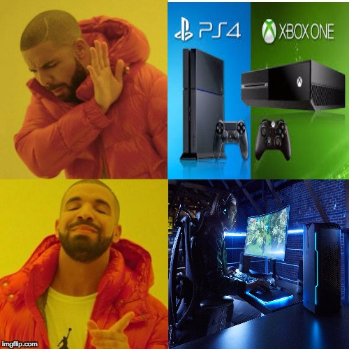 image tagged in funny,pc master race,pro | made w/ Imgflip meme maker