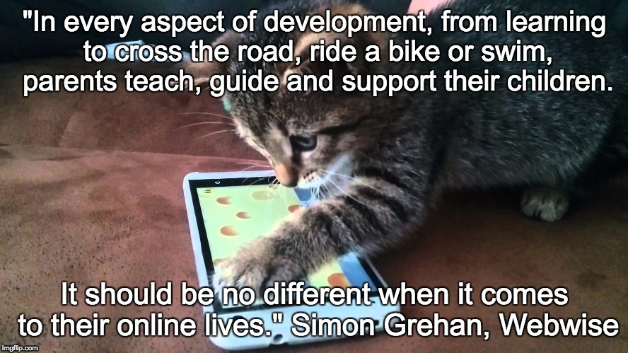 """In every aspect of development, from learning to cross the road, ride a bike or swim, parents teach, guide and support their children. It s 