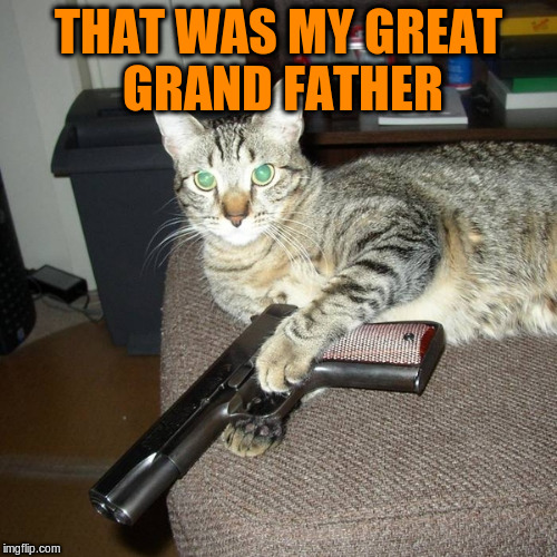 THAT WAS MY GREAT GRAND FATHER | made w/ Imgflip meme maker