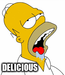 DELICIOUS | made w/ Imgflip meme maker