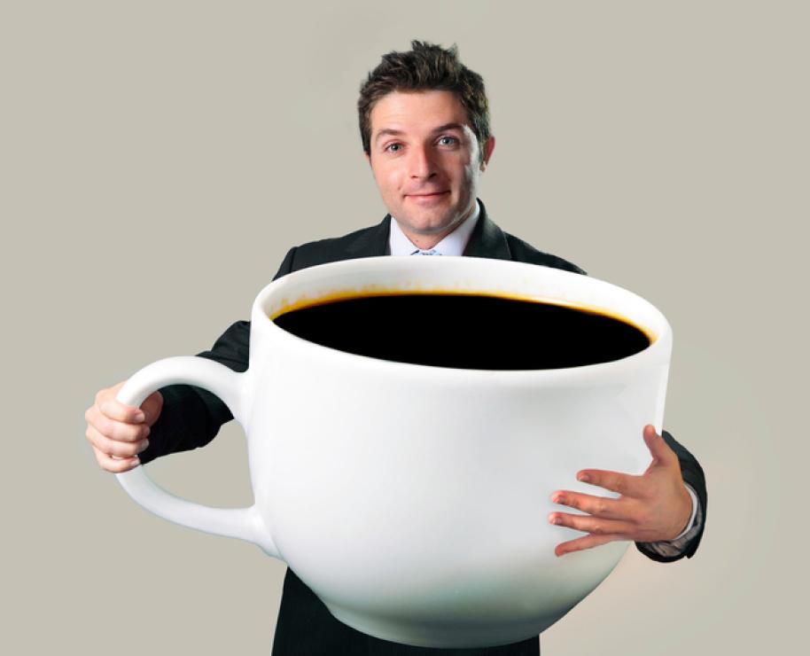 Large Coffee Mug Blank Template Imgflip