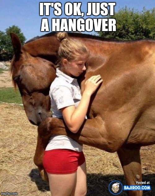 IT'S OK, JUST A HANGOVER | made w/ Imgflip meme maker