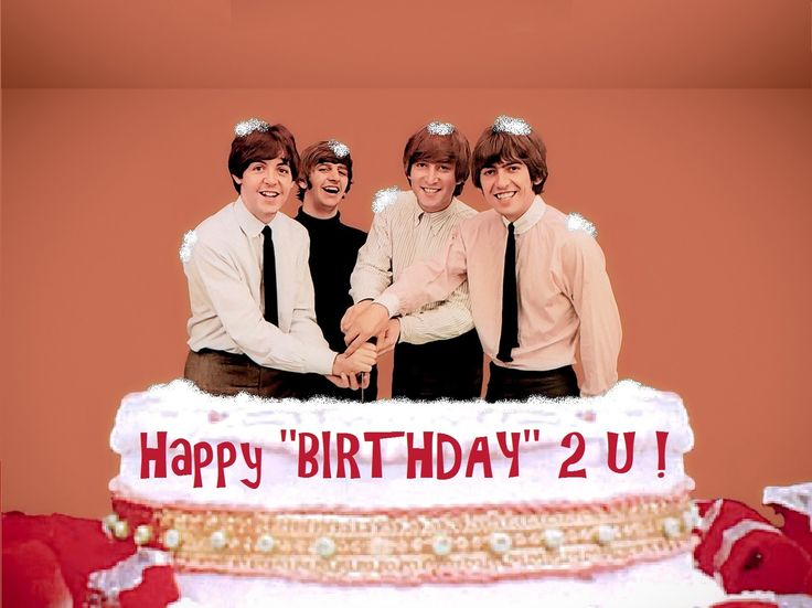 beatles birthday meme Beatles Birthday Cake Blank Template   Imgflip beatles birthday meme