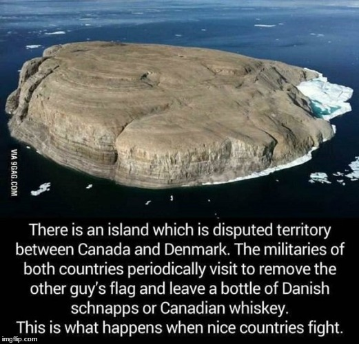 stole from imgur thought it was funny  | image tagged in memes,canada,denmark | made w/ Imgflip meme maker