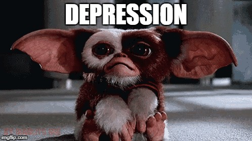DEPRESSION | image tagged in depression | made w/ Imgflip meme maker
