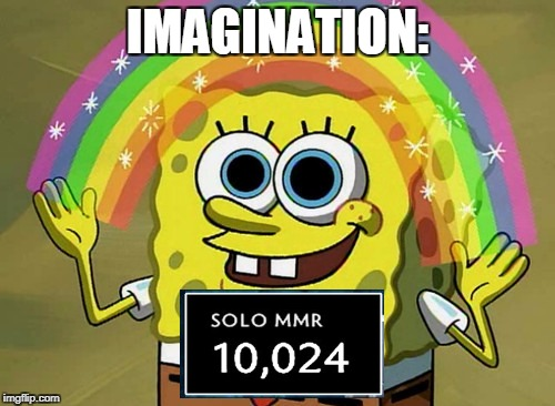 Imagination Spongebob Meme | IMAGINATION: | image tagged in memes,imagination spongebob | made w/ Imgflip meme maker
