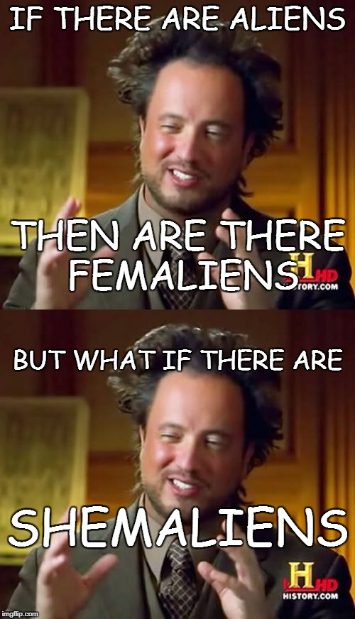 IF THERE ARE ALIENS BUT WHAT IF THERE ARE THEN ARE THERE FEMALIENS SHEMALIENS | image tagged in what if | made w/ Imgflip meme maker