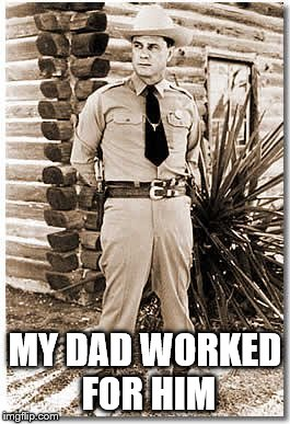 MY DAD WORKED FOR HIM | made w/ Imgflip meme maker