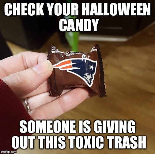 Bad Halloween Candy | CHECK YOUR HALLOWEEN CANDY SOMEONE IS GIVING OUT THIS TOXIC TRASH | image tagged in halloween | made w/ Imgflip meme maker