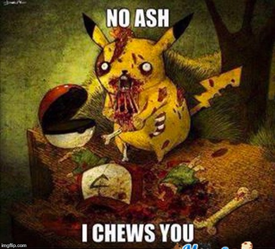 Image tagged in halloween,memes,funny,pokemon,scary,never forget ...