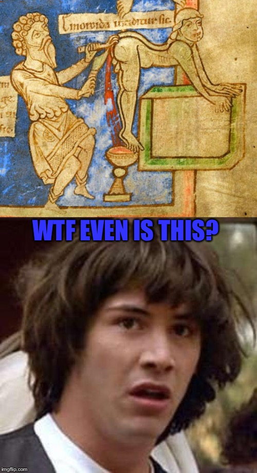 Srsly What The Frick Is This? Art week (Oct 30- Nov 5), A Sirunknown & JBmemegeek event | WTF EVEN IS THIS? | image tagged in art week,conspiracy keanu | made w/ Imgflip meme maker