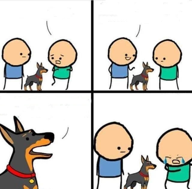Dog Hurt Comic Meme Template