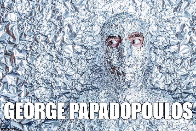 GEORGE PAPADOPOULOS | made w/ Imgflip meme maker