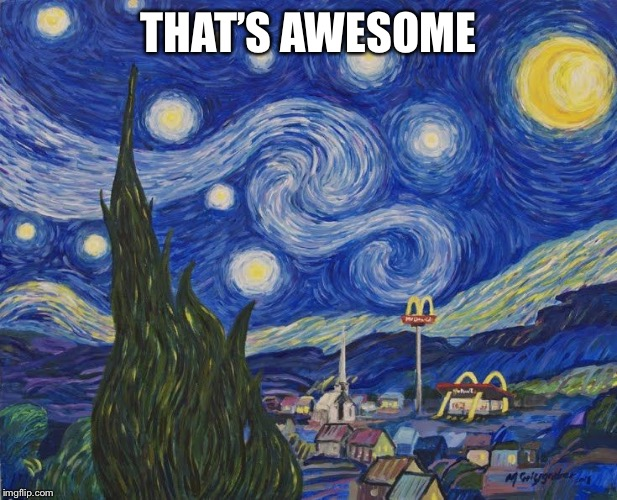 THAT'S AWESOME | made w/ Imgflip meme maker