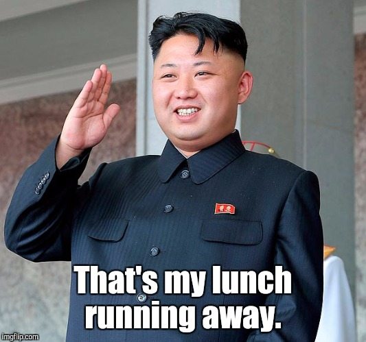 That's my lunch running away. | made w/ Imgflip meme maker