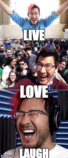 markiplier we love you! | LIVE LAUGH LOVE | image tagged in markiplier,we,love,you | made w/ Imgflip meme maker