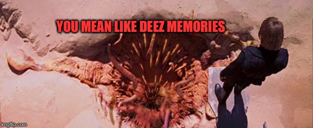 YOU MEAN LIKE DEEZ MEMORIES | made w/ Imgflip meme maker