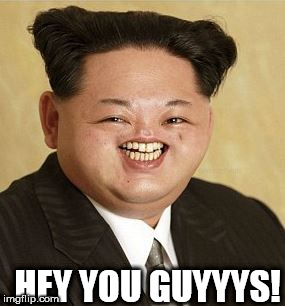 a LOONEY   Goonie | HEY YOU GUYYYS! | image tagged in the   chunk,kim jong  loon,looney | made w/ Imgflip meme maker