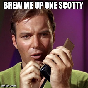 BREW ME UP ONE SCOTTY | made w/ Imgflip meme maker