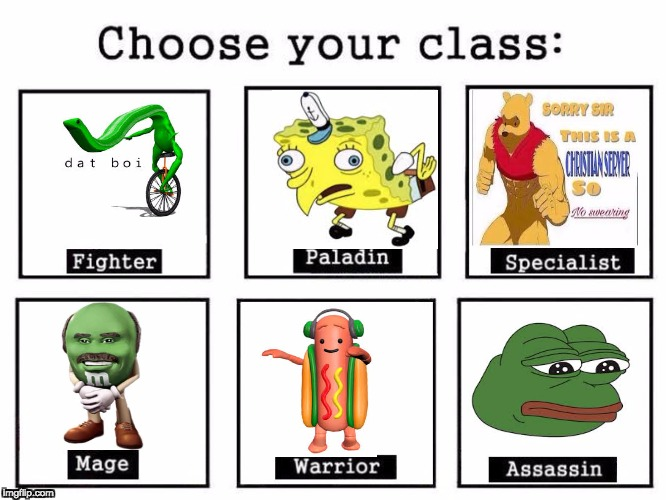 Choose Your Fighter | image tagged in choose your fighter | made w/ Imgflip meme maker