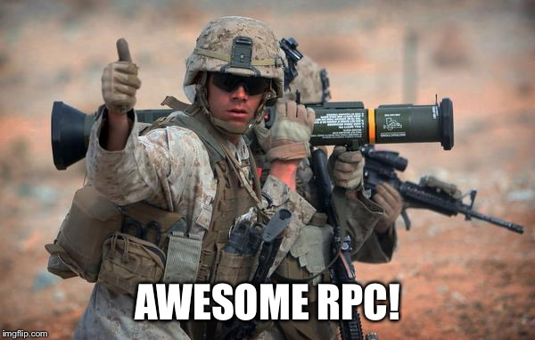AWESOME RPC! | made w/ Imgflip meme maker