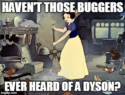 HAVEN'T THOSE BUGGERS EVER HEARD OF A DYSON? | made w/ Imgflip meme maker