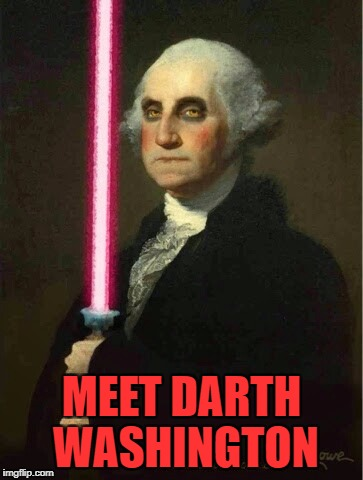 MEET DARTH WASHINGTON | made w/ Imgflip meme maker