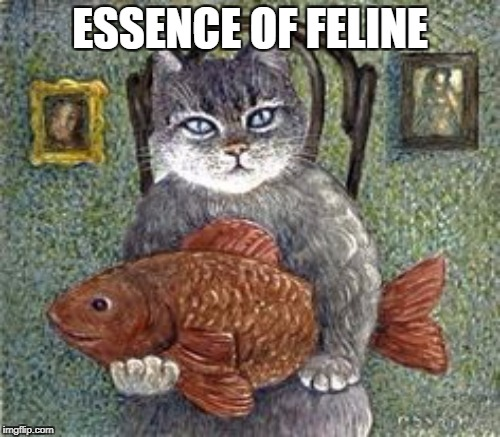 Art Week: Oct. 30-Nov. 5: A JBmemegeek and Sir_Unknown event | ESSENCE OF FELINE | image tagged in art week,cat | made w/ Imgflip meme maker