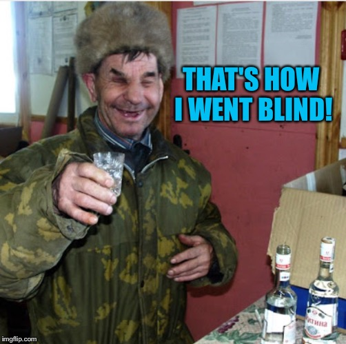 THAT'S HOW I WENT BLIND! | made w/ Imgflip meme maker