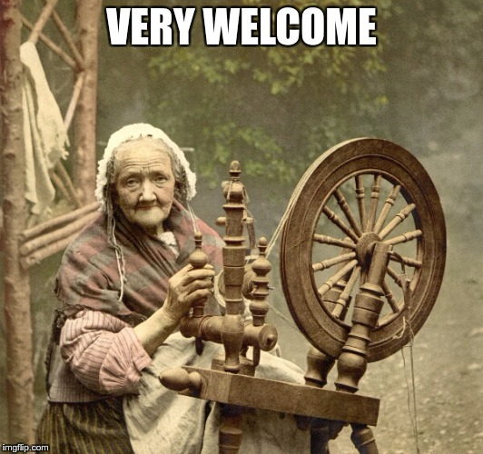 spinning | VERY WELCOME | image tagged in spinning | made w/ Imgflip meme maker