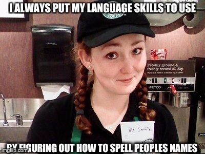 Starbucks Barista Memes Imgflip