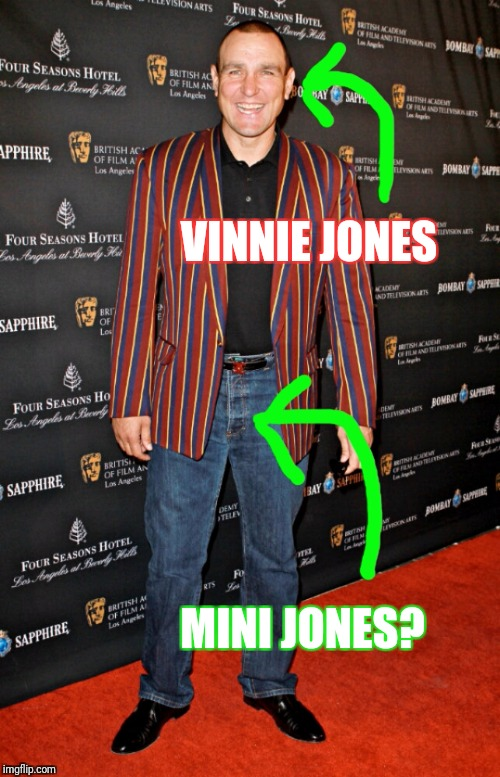 So I was thinking about usernames..... | VINNIE JONES MINI JONES? | image tagged in names,usernames,and at this point i am to afraid to ask,jones | made w/ Imgflip meme maker
