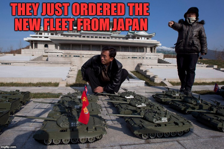 THEY JUST ORDERED THE NEW FLEET FROM JAPAN | made w/ Imgflip meme maker