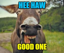 HEE HAW GOOD ONE | made w/ Imgflip meme maker