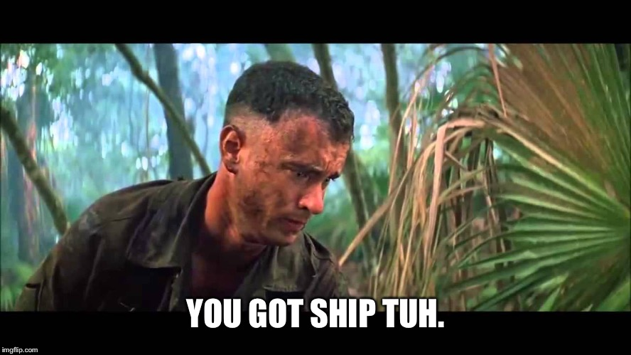 Forry | YOU GOT SHIP TUH. | image tagged in forry | made w/ Imgflip meme maker