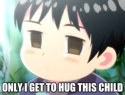 "He's mine! *Snatches Chibi Japan while China chases* ""ARU! We can share!"" 