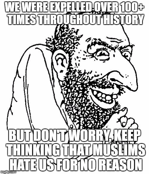 "The Next Time Someone Says ""Muslims Hate Jews For No Reason"" 
