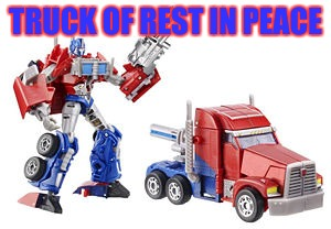 TRUCK OF REST IN PEACE | made w/ Imgflip meme maker
