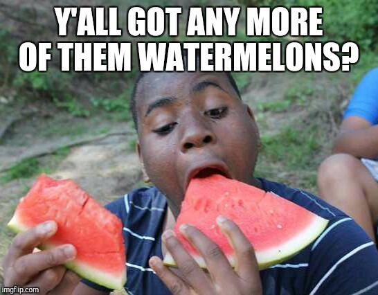 Y'ALL GOT ANY MORE OF THEM WATERMELONS? | made w/ Imgflip meme maker