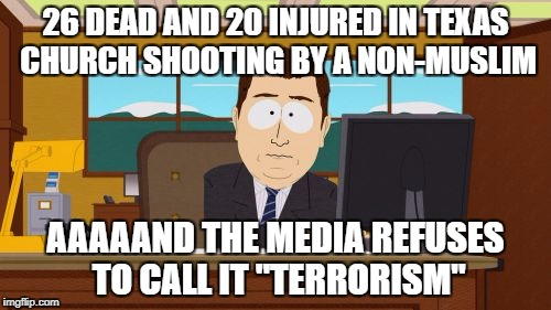"When Will The Media Call A Non-Muslim Attack ""Terrorism""? 