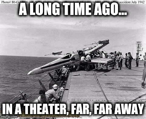 Declassified photo - Military Week - A Chad-, DashHopes, JBmemegeek, and SpursFanFromAround event | A LONG TIME AGO... IN A THEATER, FAR, FAR AWAY | image tagged in military week,chad-,dashhopes,jbmemegeek,spursfanfromaround,pipe_picasso | made w/ Imgflip meme maker